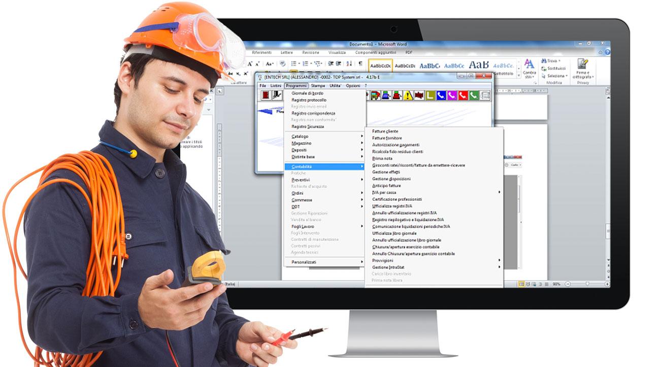 software gestionale top per elettricisti